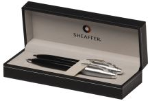 Sheaffer 100 Gift Collection black sada kuličkové pero a mikrotužka černé
