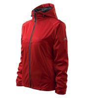 Dámská sportovní softshelová bunda Cool softshell červená XXL